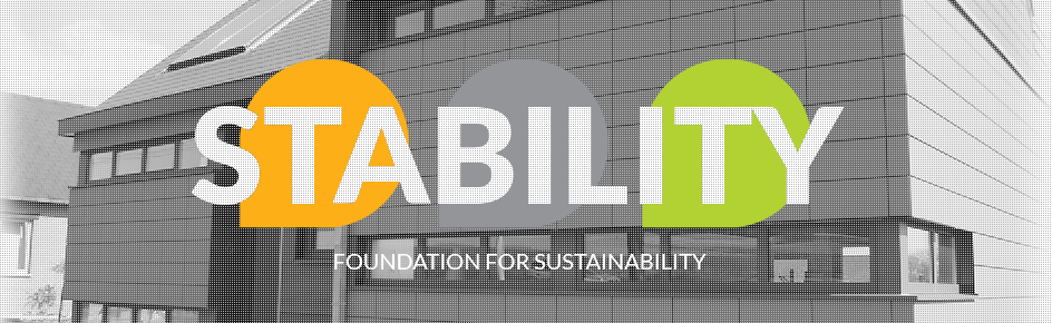 Stability Foundation for sustainability
